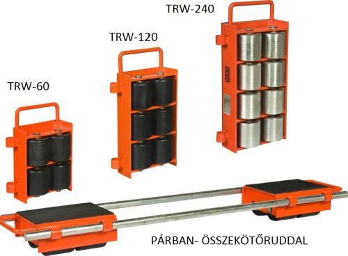 NEHÉZGÉPSZÁLLÍTÓ TRW-240 24 TON/PÁR