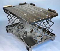 ERGOPAL 1200×800 Ergonomikus rugós raklap rendszer V2A anyagból