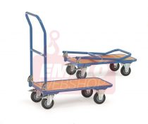 Összecsukható áruszállító kocsi KW 1, rakfelület 720 x 450 mm, 250 kg