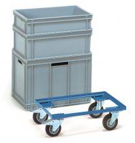 EURO doboz alváz 13580, rakfelület 605 x 405 mm, 250 kg