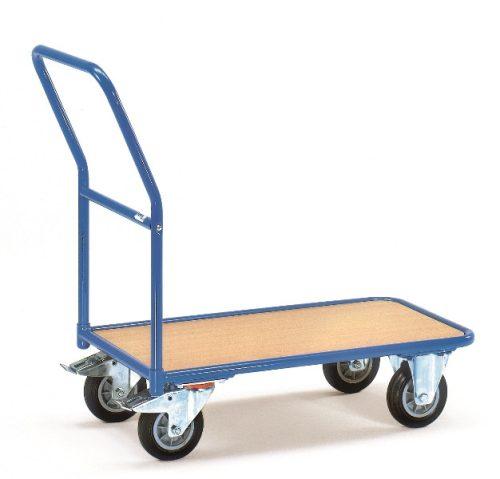 Áruszállító kocsi 2102, rakfelület 1.000 x 700 mm, 400 kg