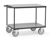 Asztalkocsi 2400 szürke, rakfelület 850 x 500 mm, 500 kg
