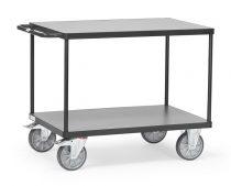 Asztalkocsi 2402 szürke, rakfelület 1.000 x 700 mm, 600 kg