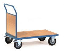 Áruszállító kocsi 2512, 1 fa fallal, rakfelület 1.000 x 700 mm, 500 kg