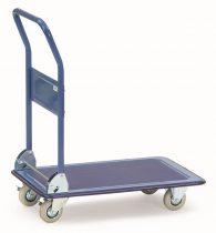 Összecsukható áruszállító kocsi 3100, acél, rakfelület 740 x 480 mm, 150 kg