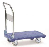 Összecsukható áruszállító kocsi 3130, műanyag, rakfelület 810 x 500 mm, 200 kg