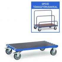 Lapszállító kocsi, laptámasz nélkül, rakfelület 1.200 x 800 mm, 1200 kg