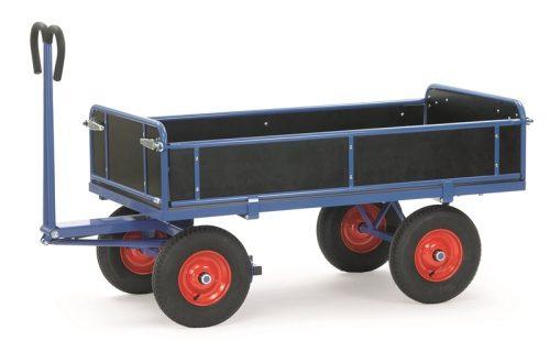 Vonórudas kézikocsi 6453V, rakfelület 1.200 x 800 mm, 700 kg