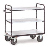 ESD-Polcos kocsi 9100, Rf. 850 x 500 mm, 500kg