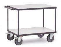 ESD-Asztalkocsi 9400, rakfelület 850 x 500 mm, 500 kg