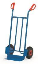 Rekesz szállító molnárkocsi B1115V, rakfelület 150x400, 250kg, tömörgumi kerekekkel