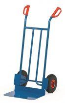 Rekesz szállító molnárkocsi B1116V, rakfelület 300x480, 250 kg, tömörgumi kerekekkel