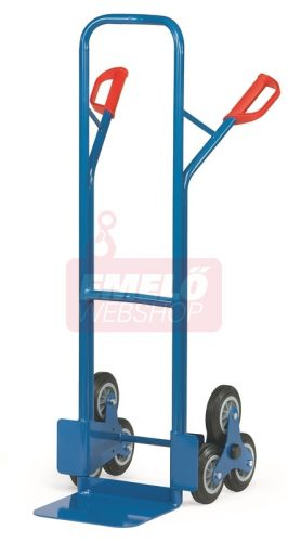 Lépcsőjáró molnárkocsi TK 1325, rakfelület 250x320, 200 kg, 3 gördülő kerékkel