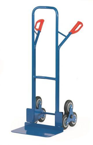 Lépcsőjáró molnárkocsi TK 1326, rakfelület 300x480, 200 kg, 3 gördülő kerékkel