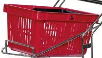 TARTOZÉK: Bevásárlókosár KONGAMEK KM3261-R, 15 kg