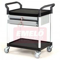 Asztalkocsi MATADOR 909B-2L, rakfelület 850x480mm, 250kg