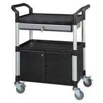 Asztalkocsi MATADOR 818D-1, rakfelület 680x450mm, 240kg