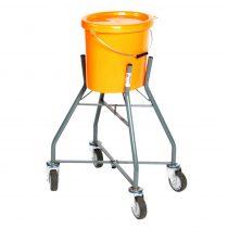 Vödörtartó gurulós állvány 30 liter