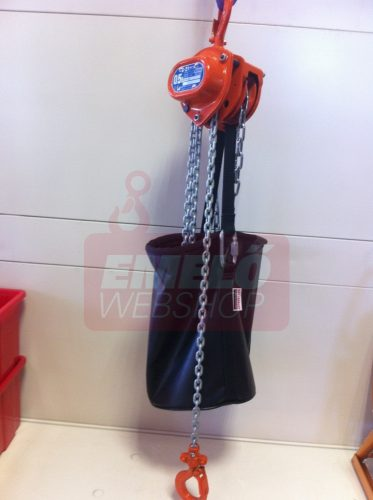 Novotransz láncgyűjtő zsák emelőhöz, fekete