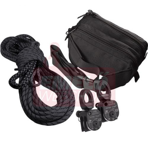 AZTEK SET BLACK (STERLING ROPE BLACK & AZTEK BAG)