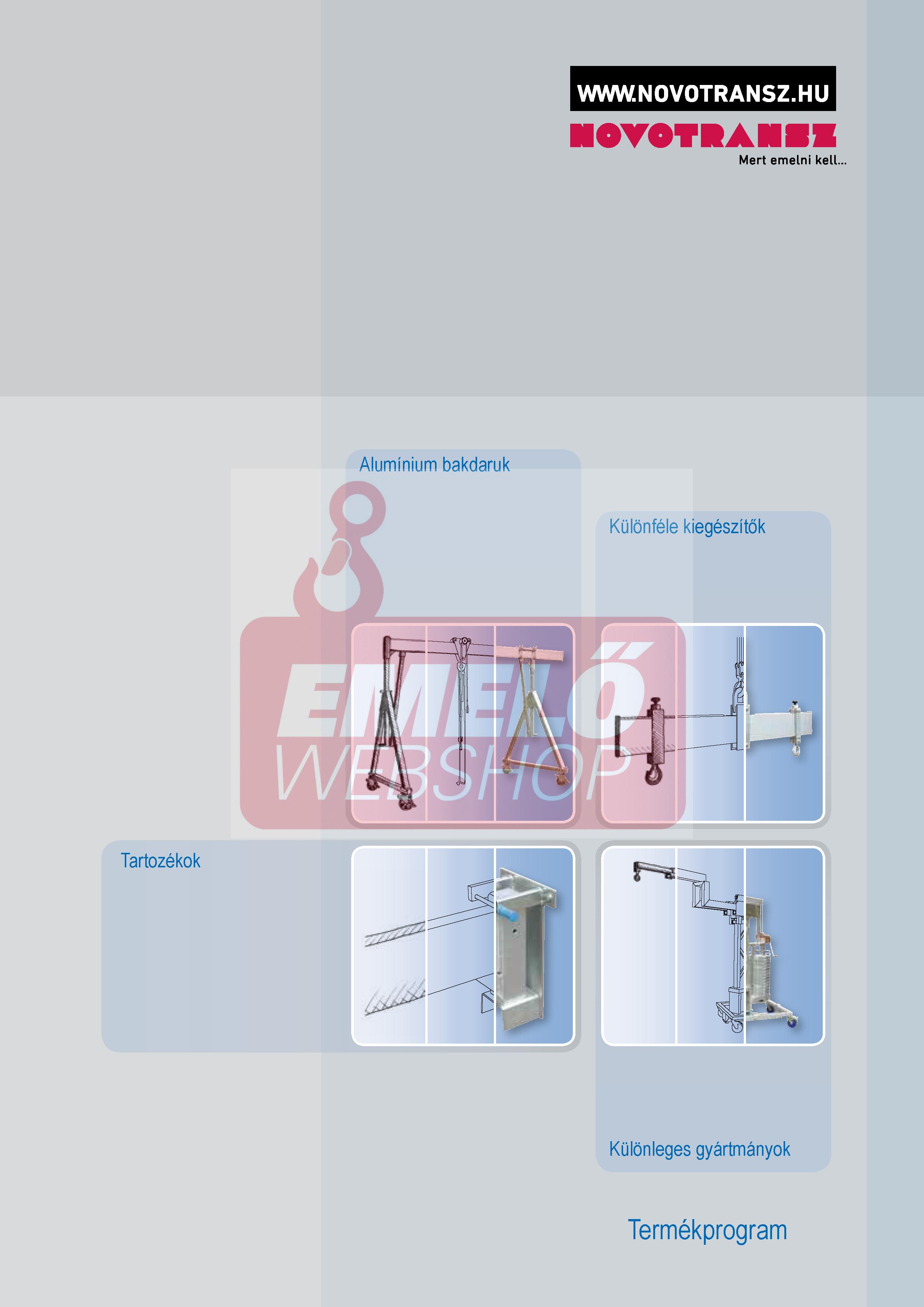 Novotransz SCH-FN katalógus