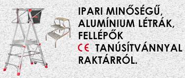FARAONE professzionális ipari létrák CE minősítéssel